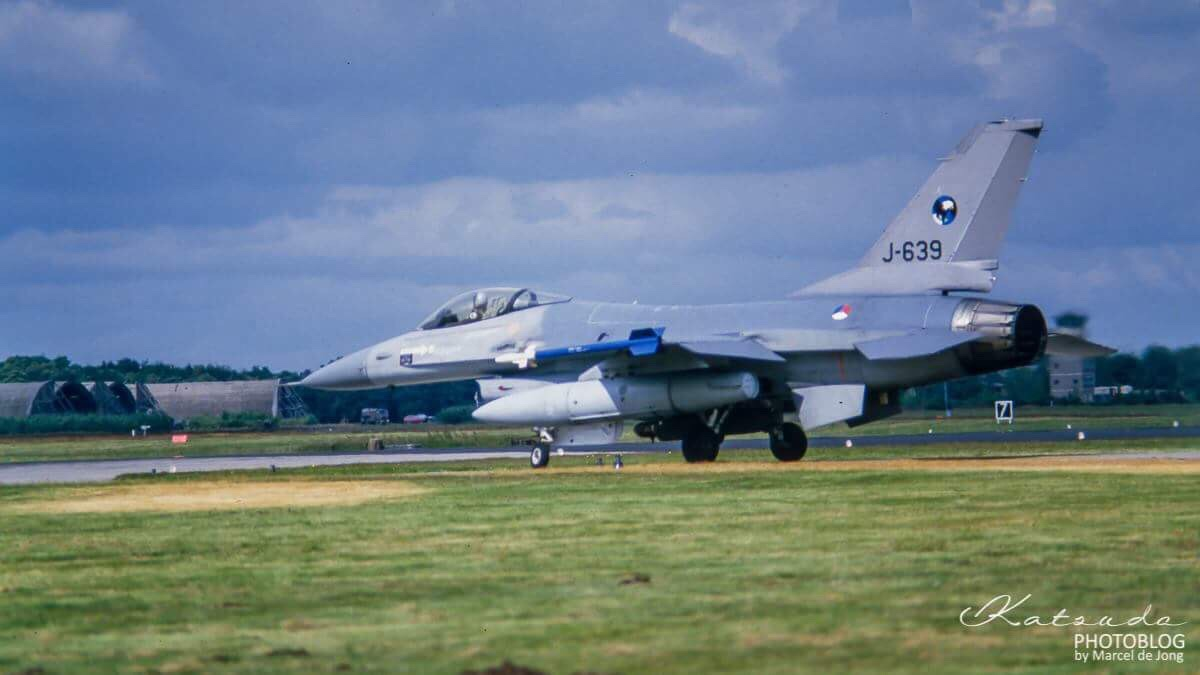 General Dynamics F-16A Fighting Falcon, KLu, Gilze Rijen