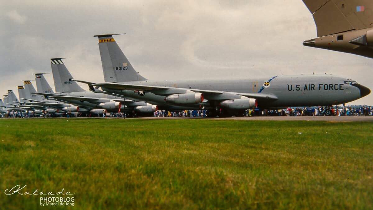 Boeing KC-135, US Air Force, Fairford