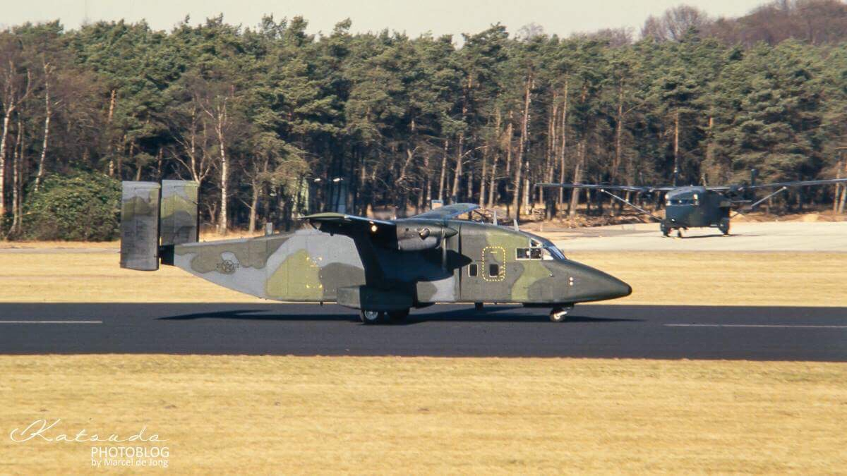 Shorts C-23A Sherpa, US Air Force, Soesterberg