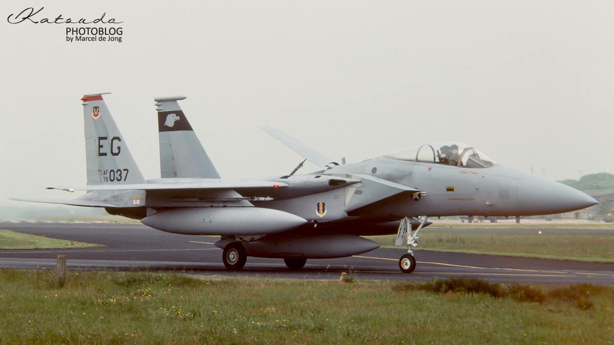 McDonnell Douglas F-15C Eagle, US Air Force, Soesterberg