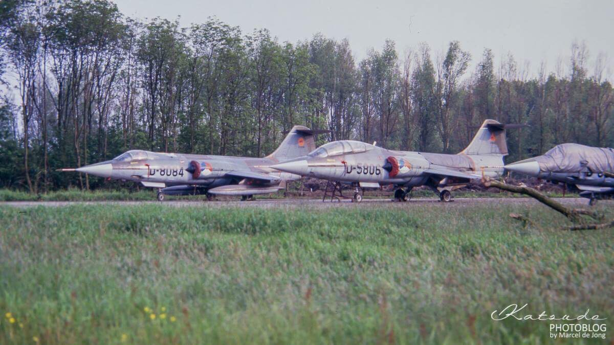Lockheed (T)F-104G Starfighters, KLu, Ypenburg (12)