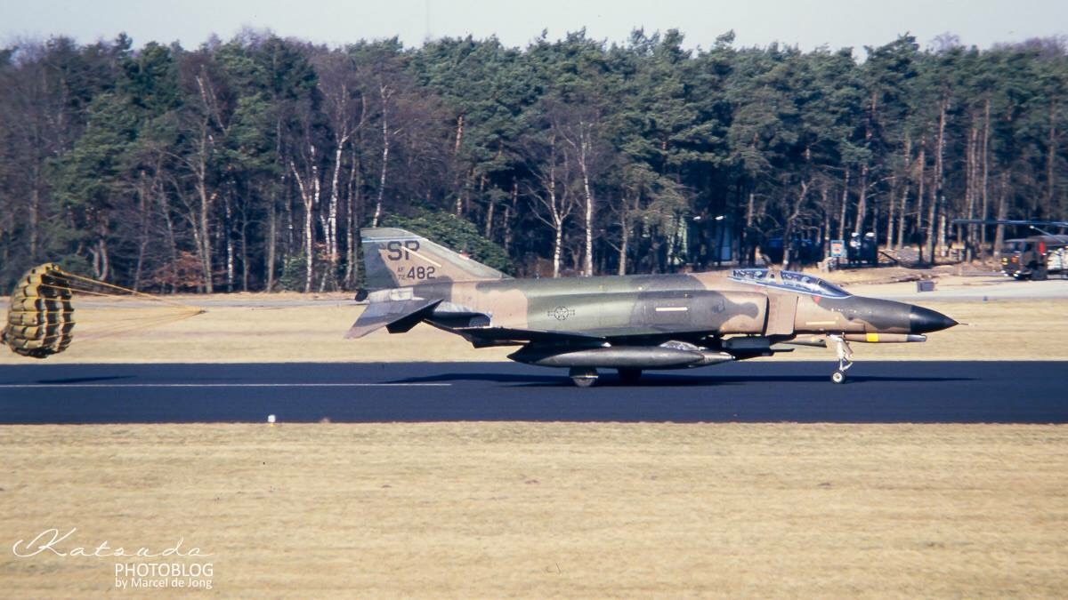 McDonnell Douglas F-4E Phantom II, US Air Force, Soesterberg