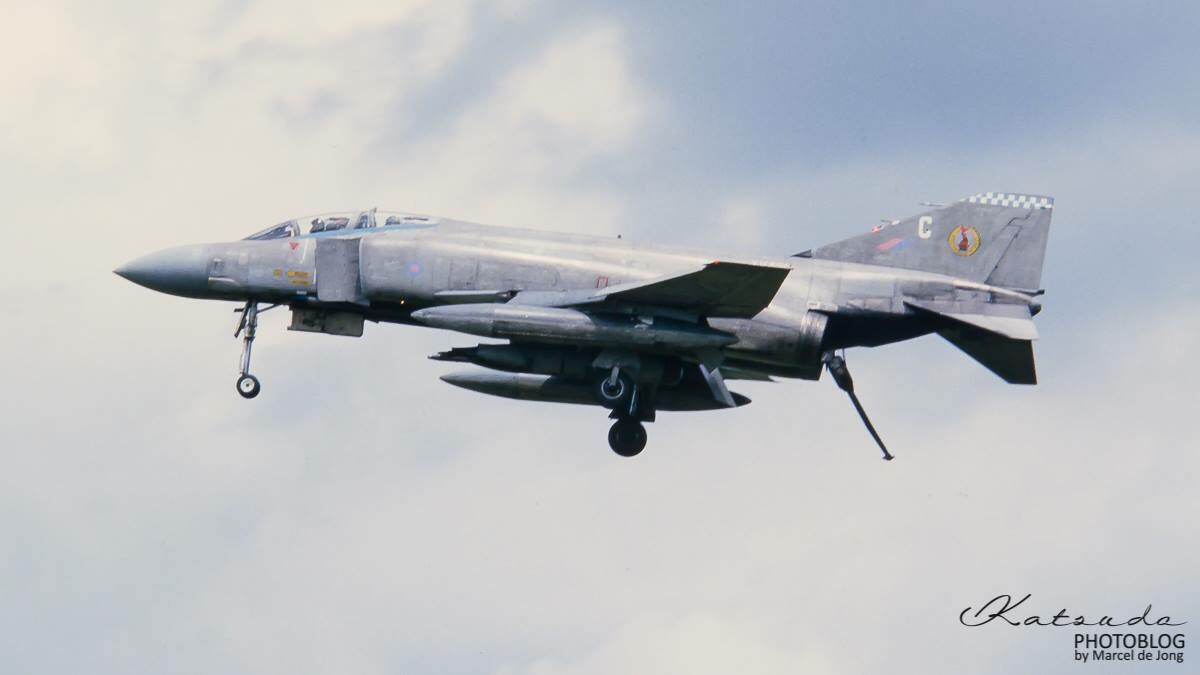 McDonnell Douglas Phantom FGR2, Royal Air Force, Wildenrath