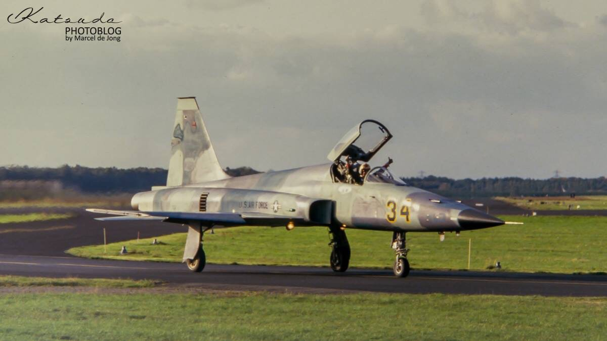 Northrop F-5E Tiger,US Air Force,Soesterberg (3)