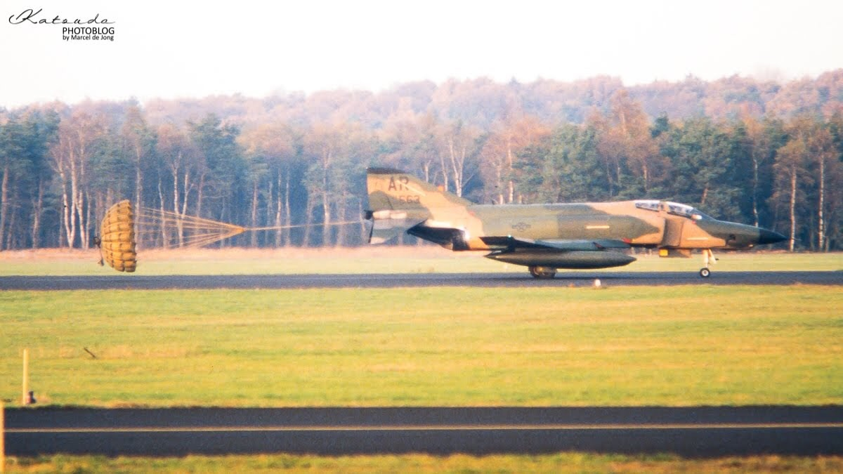 McDonnell Douglas RF-4C Phantom II, US Air Force, Soesterberg