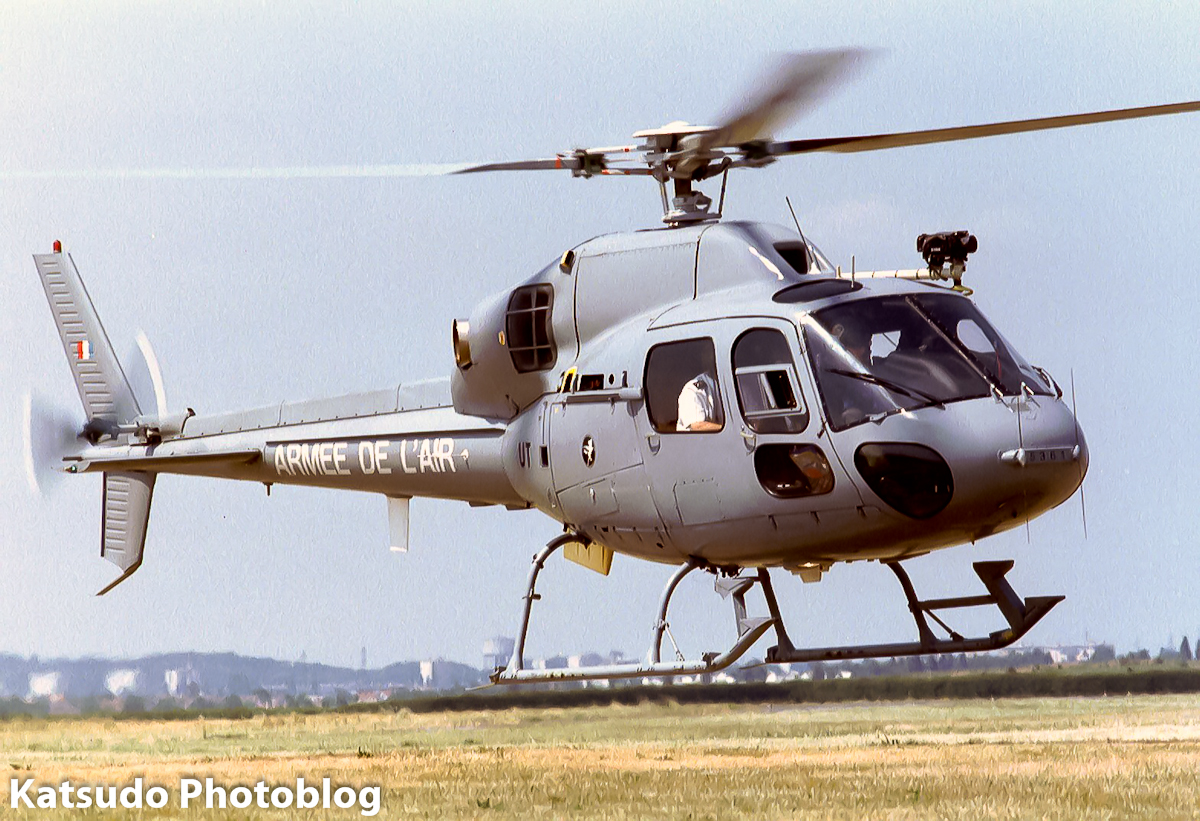 Aerospatiale AS>350B Ecureuil, Armée de l'Air, Paris Le Bourget